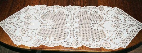 Crochet for Chemin de table crochet